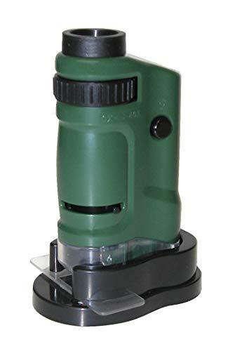 Carson MicroBrite 20x-40x LED Lighted Pocket Microscope