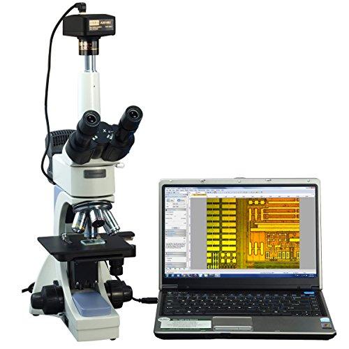OMAX 40X-2500X Digital Infinity Trinocular Polarizing Microscope