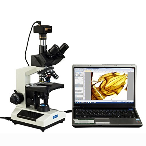 OMAX 40X-2500X Full Size Lab Trinocular Compound LED Microscope