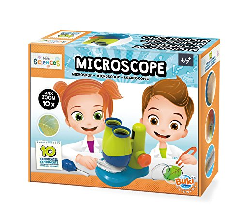 Buki Mini Children's First Basic Toy Microscope