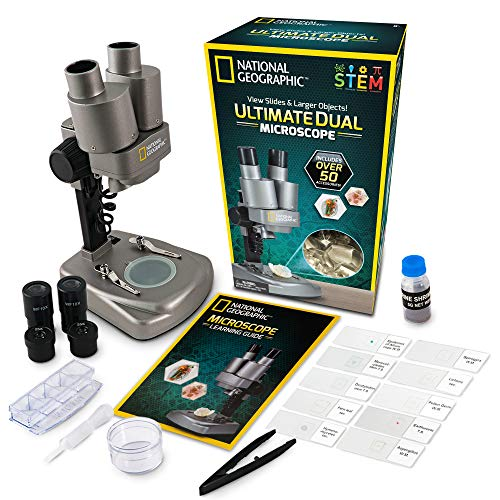 National Geographic 50+ Pc Kit Student Microscope