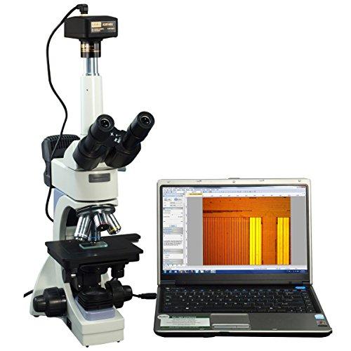 OMAX 40X-2000X Infinity Trinocular Microscope