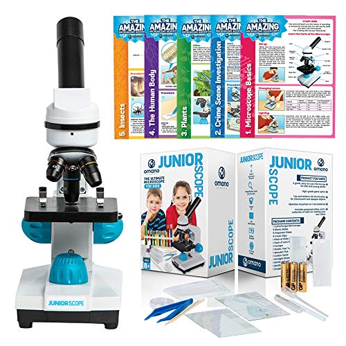 Omano JuniorScope Microscope Science Kits for Kids