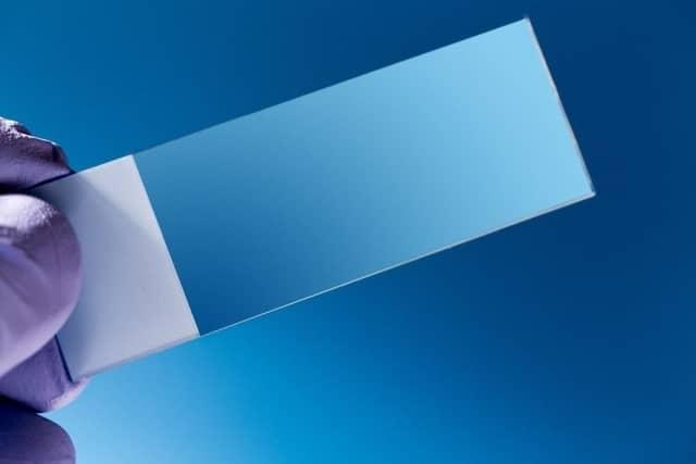 single microscope slide